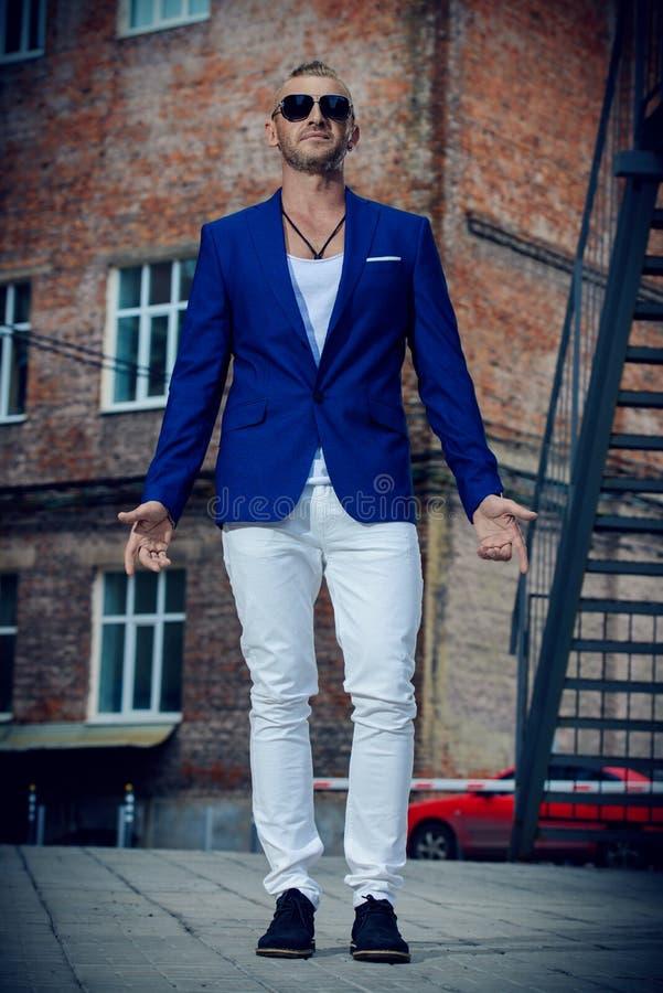 Stylish handsome man stock photography