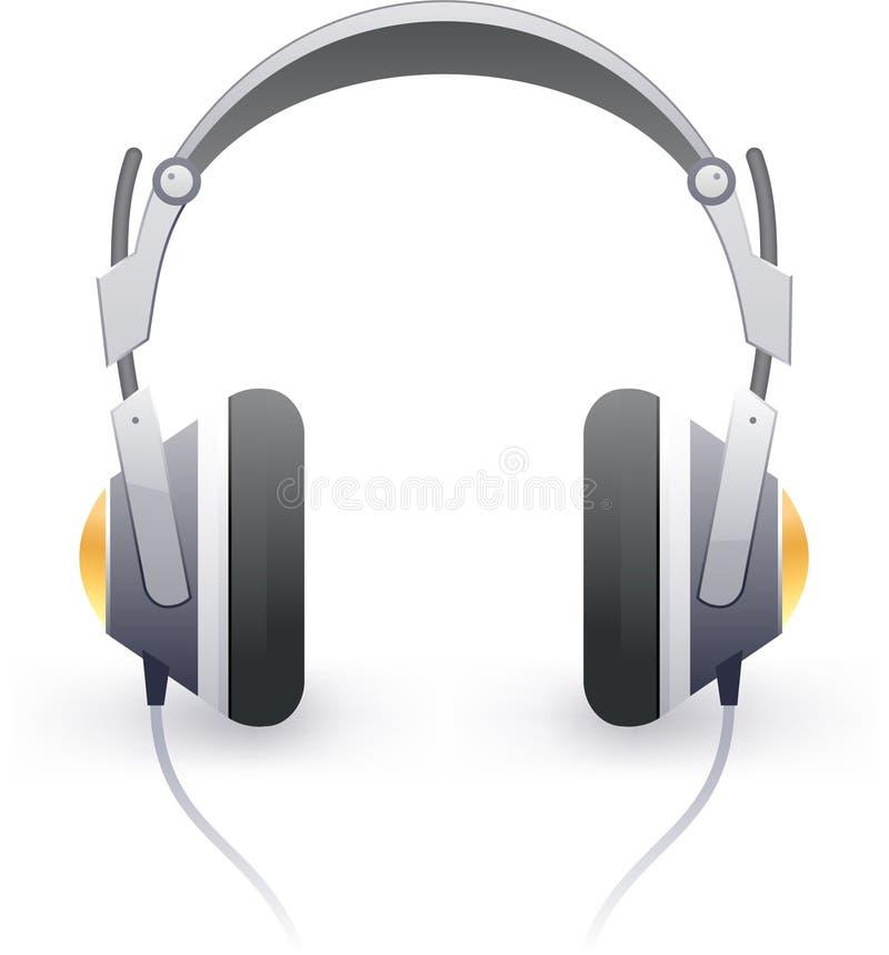 Download Stylish headphones stock vector. Illustration of icon - 19621121
