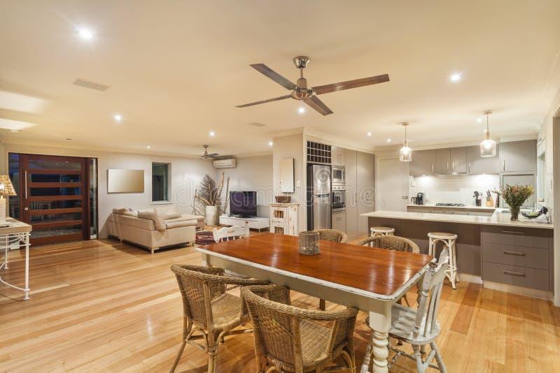 Stylish home interior stock image