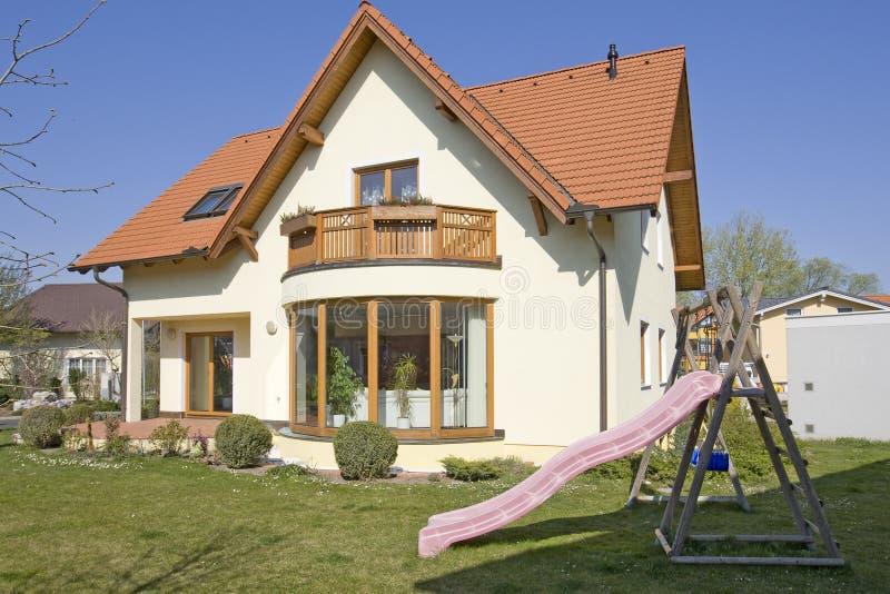 Stylish house stock photos