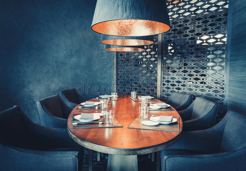 Stylish interior design royalty free stock image