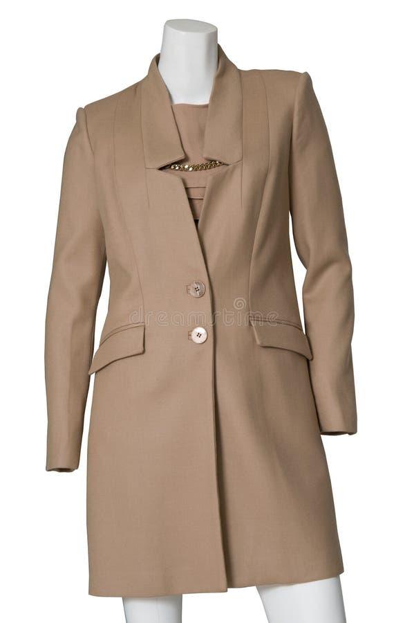 Stylish jacket isolated stock photo