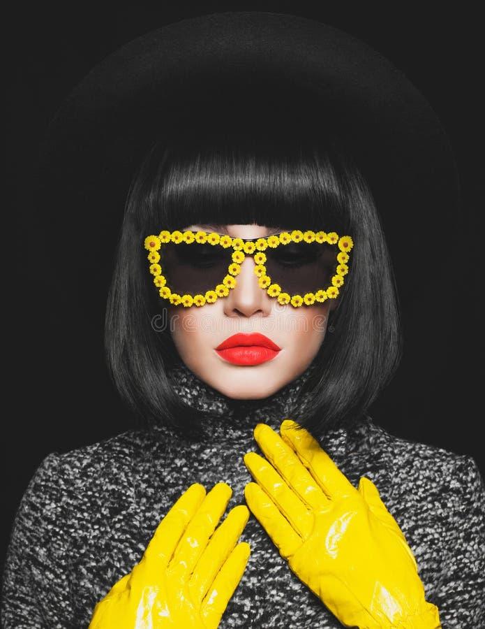 Stylish lady royalty free stock image