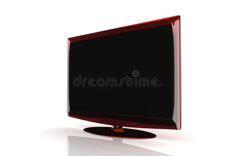 Download Stylish Lcd TV , Monitor stock illustration. Image of display - 6373656