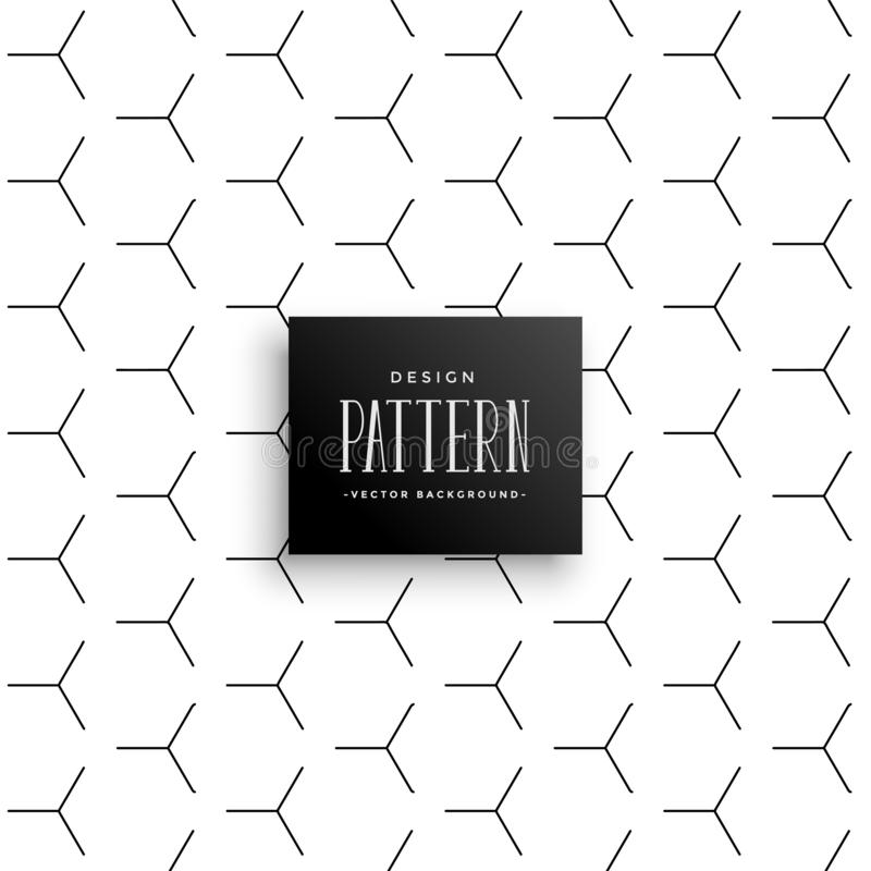Stylish line pattern forming hexagonal shape style vector illustration
