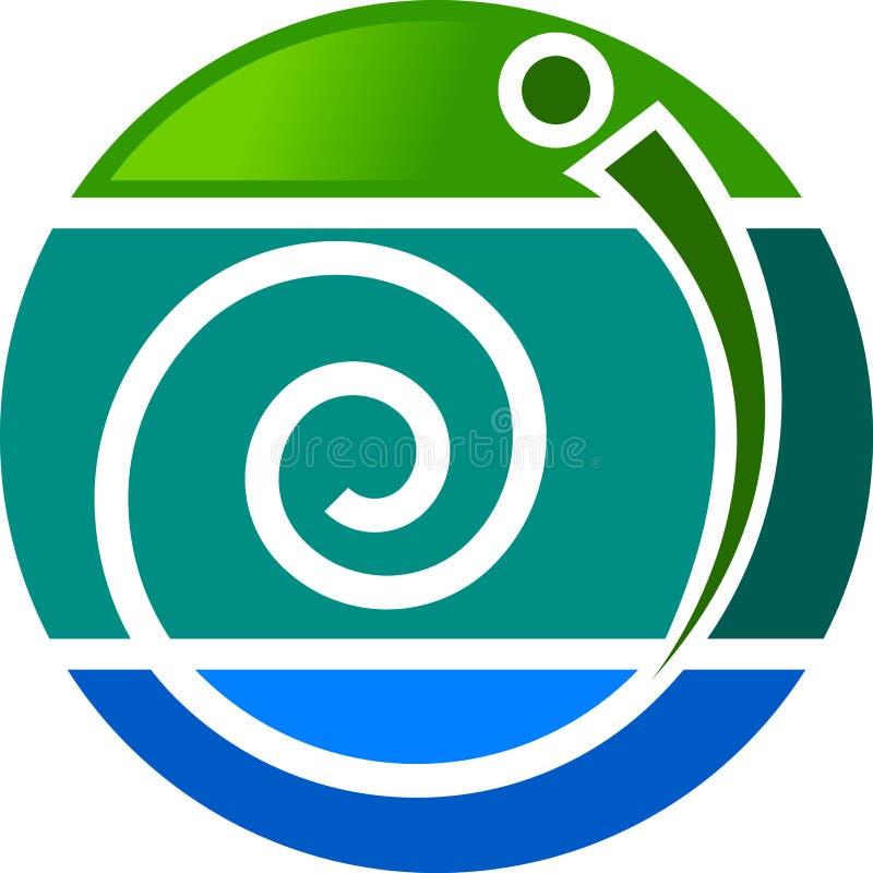 Stylish logo stock illustration