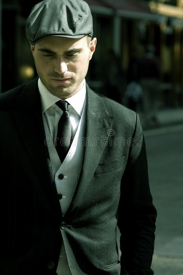 Download Stylish man stock photo. Image of portrait, attractive - 9291762