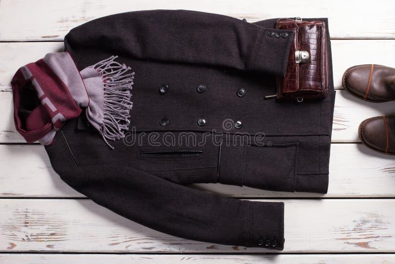 Stylish men's clothing. stock image