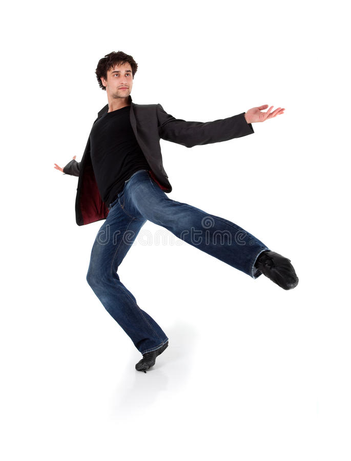 Download Stylish Modern Performer Dancing Royalty Free Stock Photography - Image: 16077607