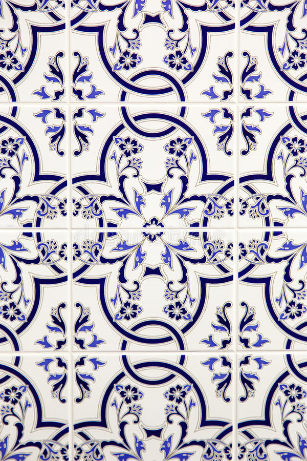 Stylish mosaic decor royalty free stock photo