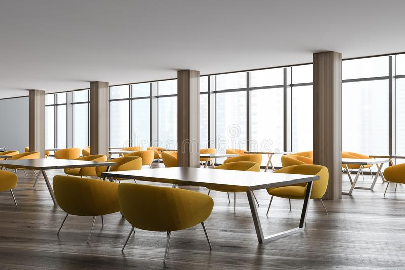 Download Stylish Office Waiting Room Or Class Corner Yellow Stock  Illustration   Illustration Of Architecture,