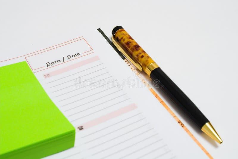 The stylish pen royalty free stock images