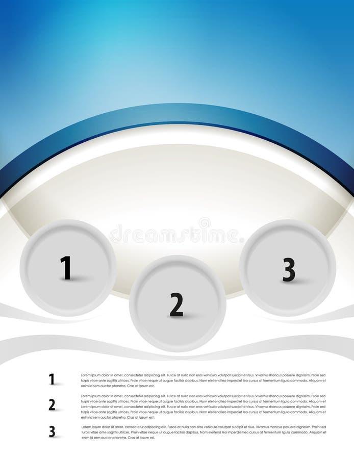 Download Stylish Presentation Of Business Poster Stock Vector - Illustration of creative, folder: 31679076