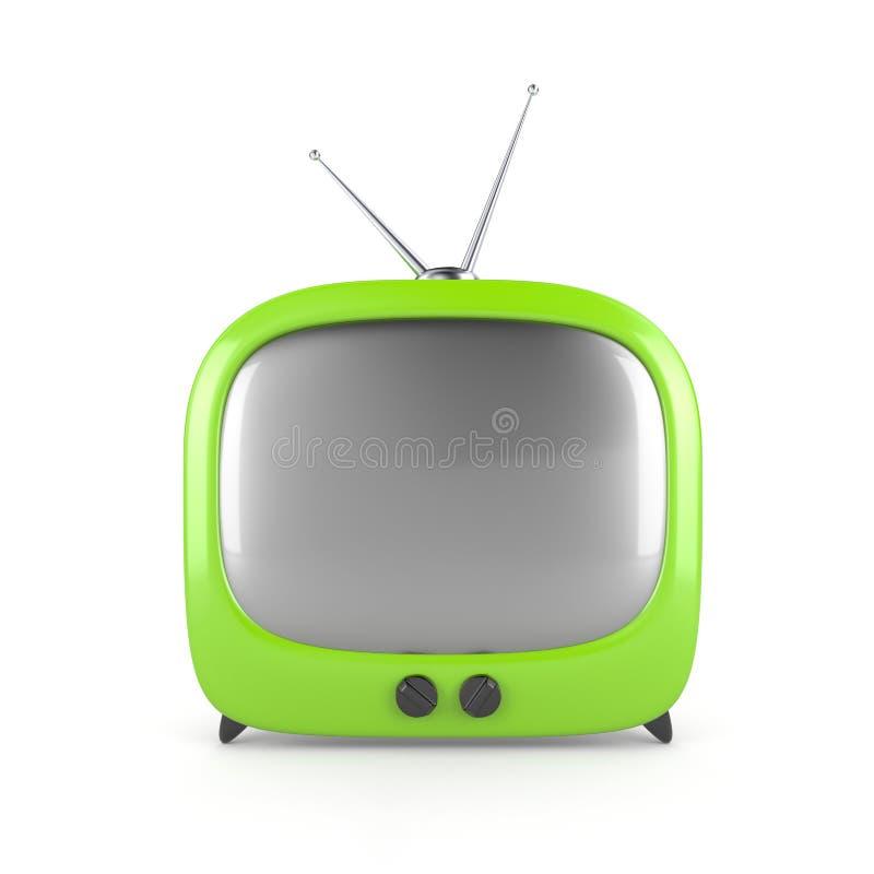 Free Stylish Retro TV Royalty Free Stock Images - 10478499
