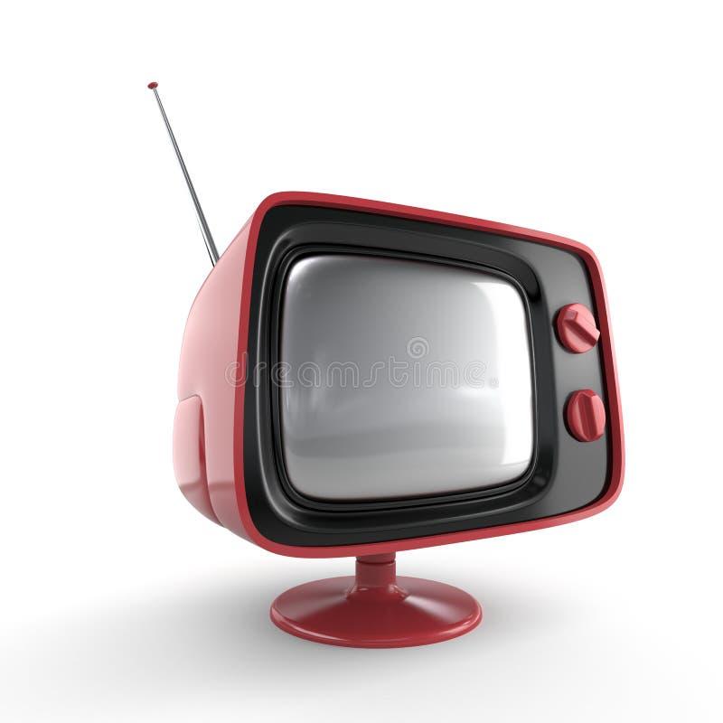 Free Stylish Retro TV Royalty Free Stock Photography - 3766357