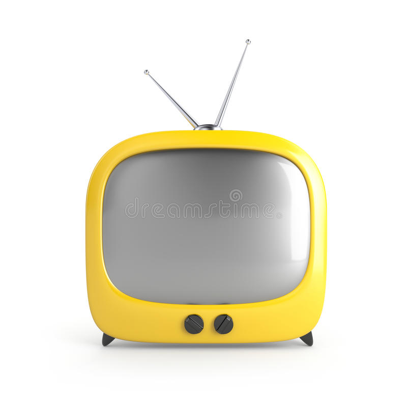 Stylish retro TV vector illustration