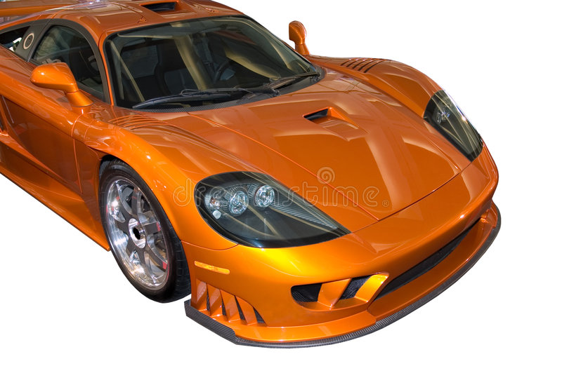 Stylish Saleen Sports Car royalty free stock photos