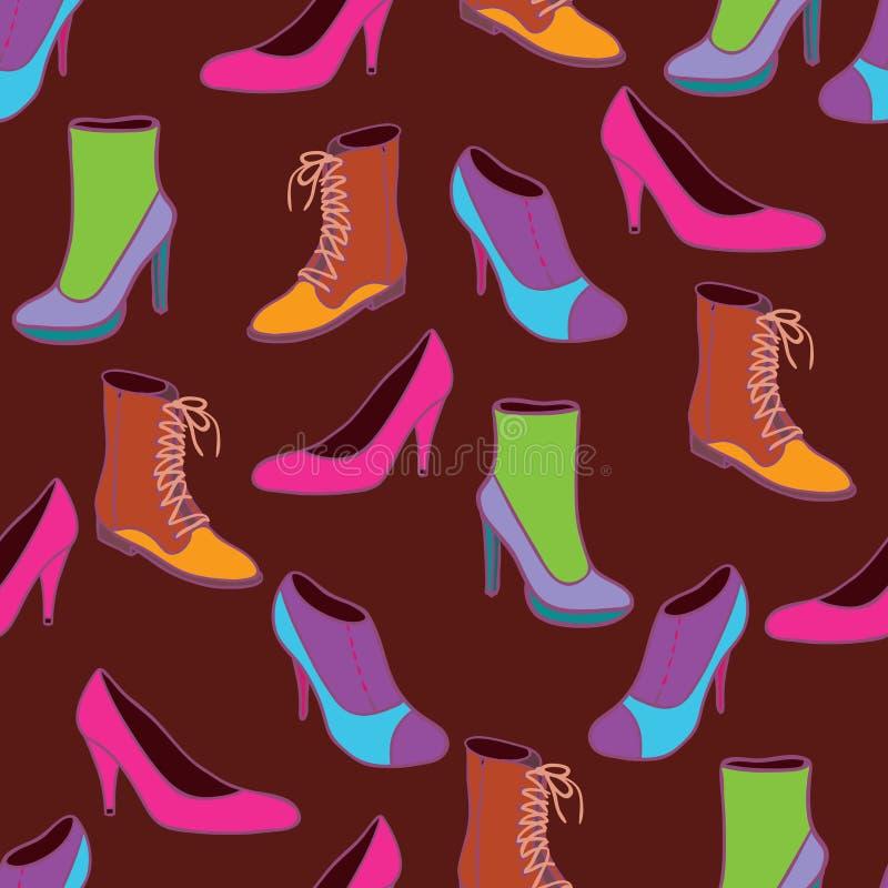 Download Stylish shoes stock illustration. Image of luxury, clothing - 9497538