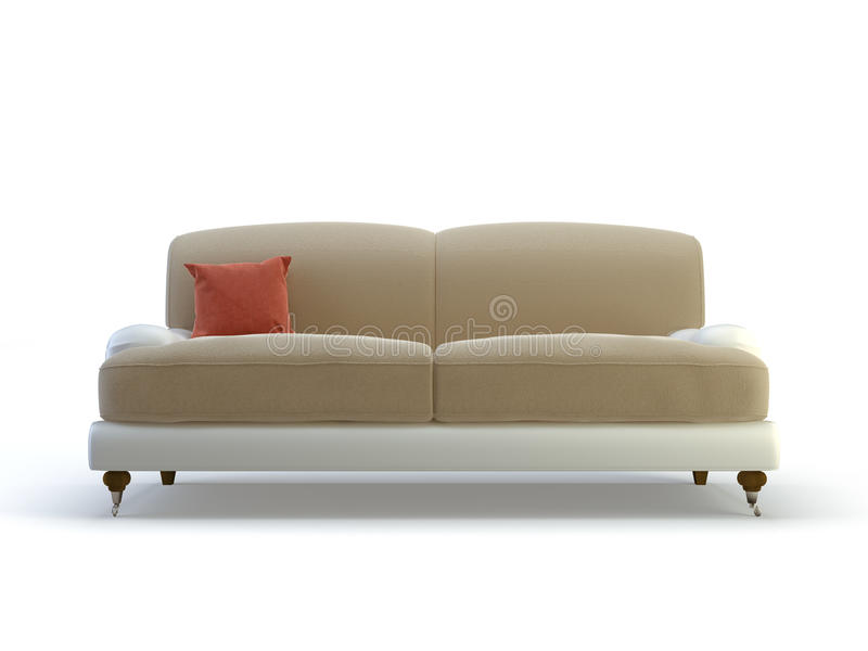 Stylish sofa vector illustration