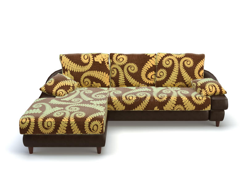Stylish sofa stock illustration