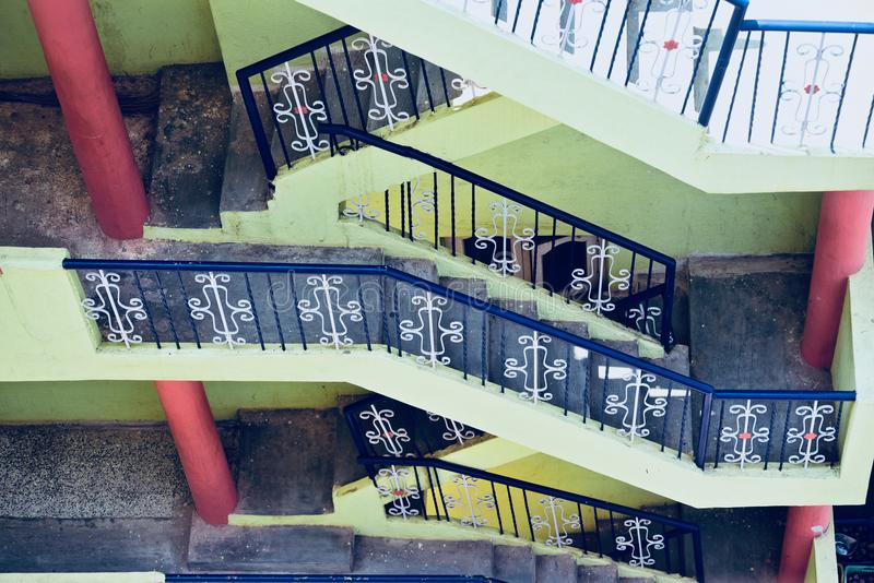 Stylish stairs of a house unique photo royalty free stock images