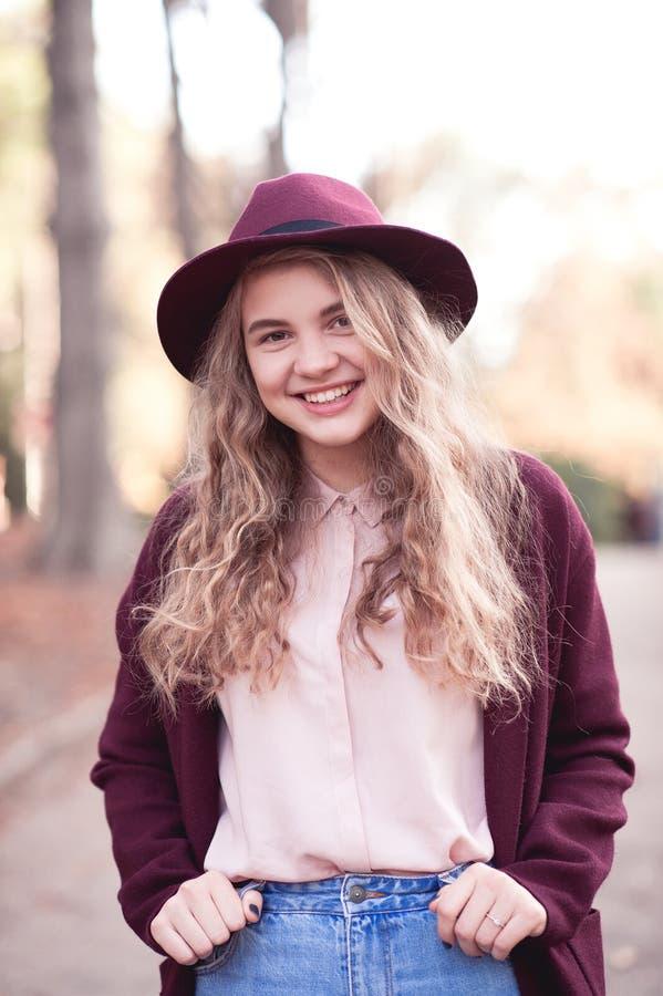 Stylish teen girl royalty free stock images