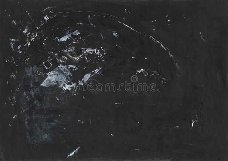 Stylish Wallpaper Design Black And White Abstract Background Acrylic Painting Stock Photo Image Of Acrylic Canvas 129300690