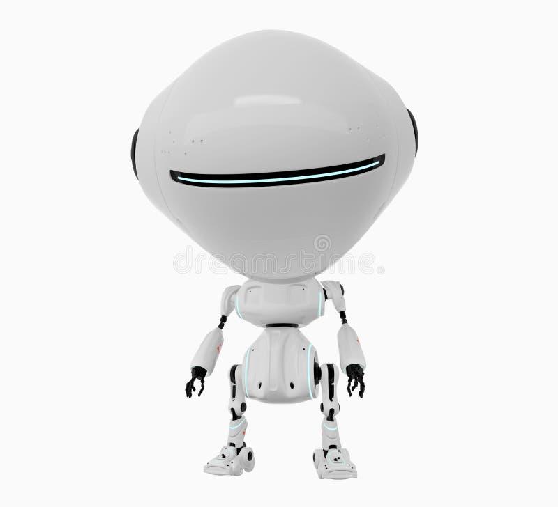 Free Stylish White Robot Stock Photo - 22817020