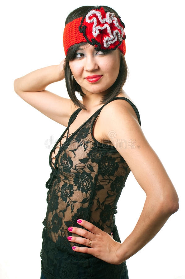 Download Stylish woman stock photo. Image of expression, gloss - 24927664
