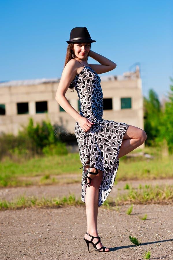 Download Stylish woman stock photo. Image of pretty, woman, glamorous - 25463532