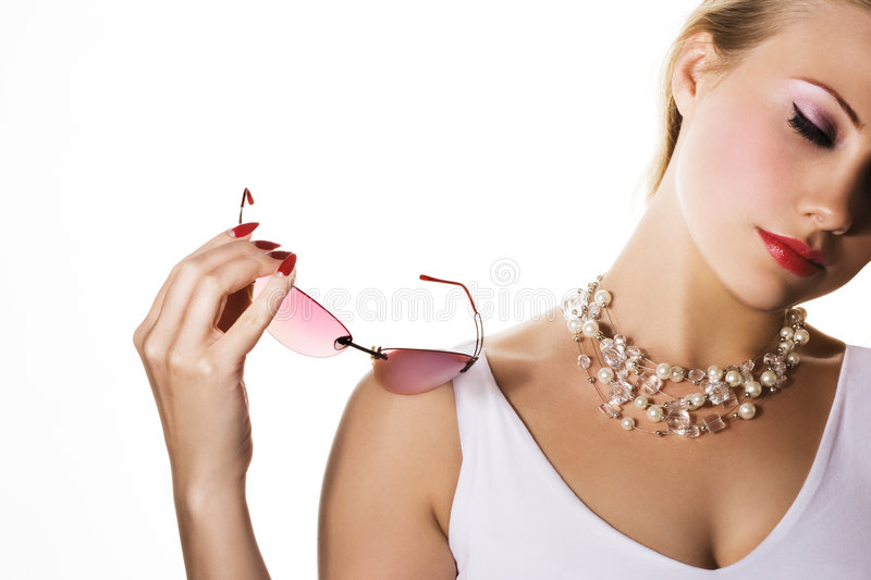 Stylish woman stock photography
