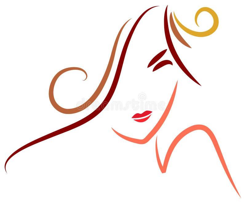 Stylish woman vector illustration