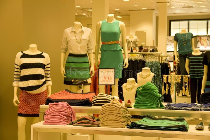Stylish woman clothing stock photos