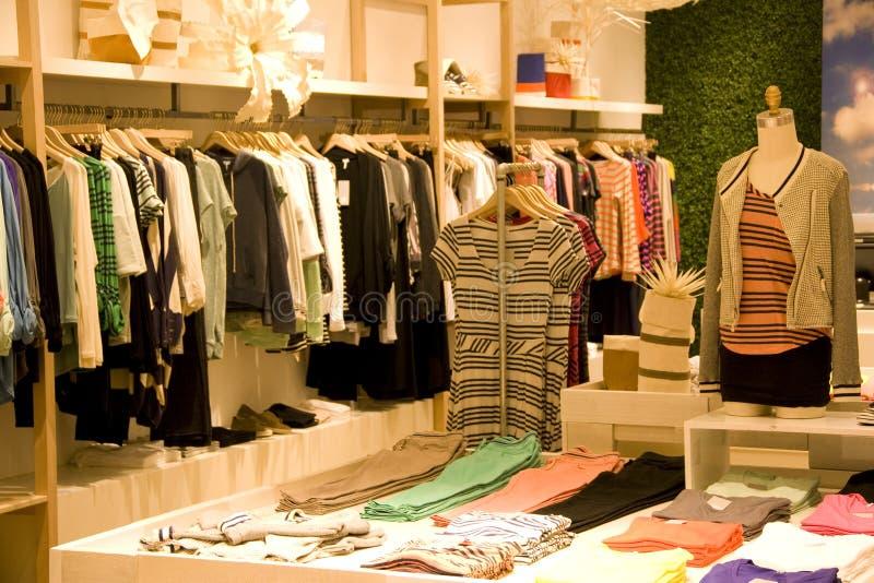 Stylish woman clothing stock images