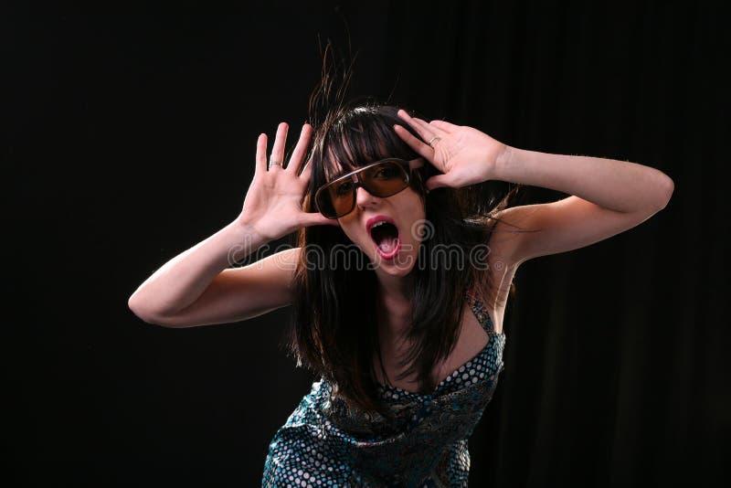Download Stylish woman having fun stock image. Image of freshness - 6959373