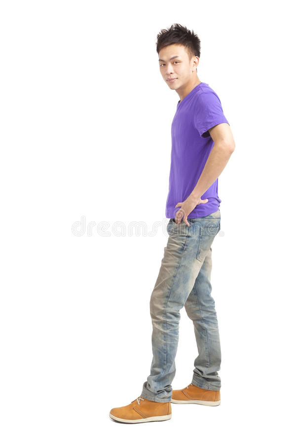 Stylish Young Asian Man Royalty Free Stock Photography
