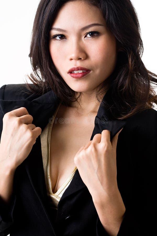 Stylish young woman royalty free stock image