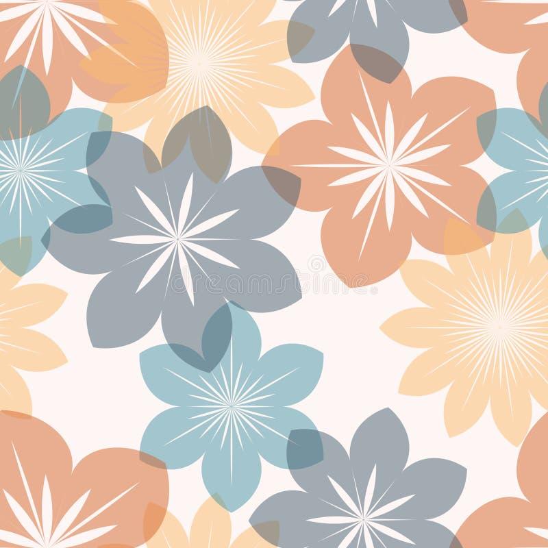 stylized blommor vektor illustrationer