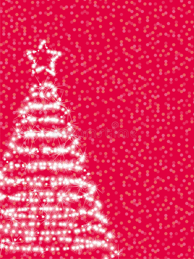 Free Stylized Christmas Fir Royalty Free Stock Photo - 11191765