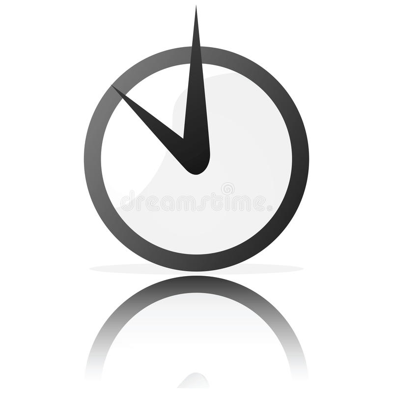 Free Stylized Clock Royalty Free Stock Photos - 10019358