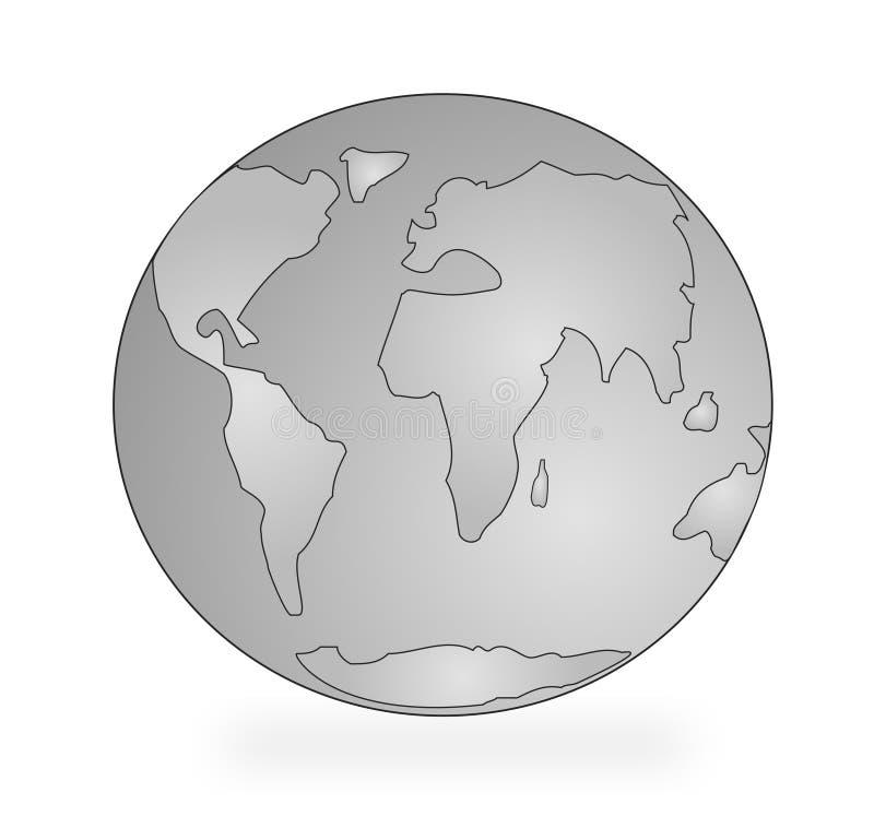 Stylized earth stock illustration