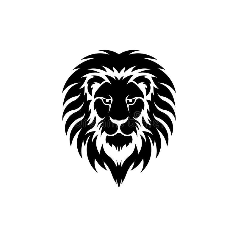 Free Stylized Image Of Graceful Lion King Silhouette Logo Stock Photos - 220730033