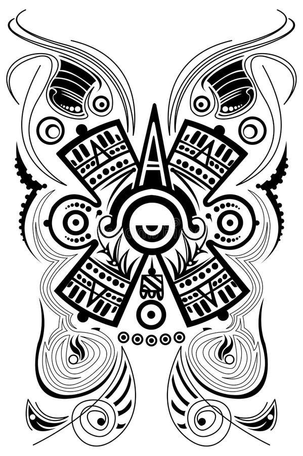 Maya Symbole Sonne