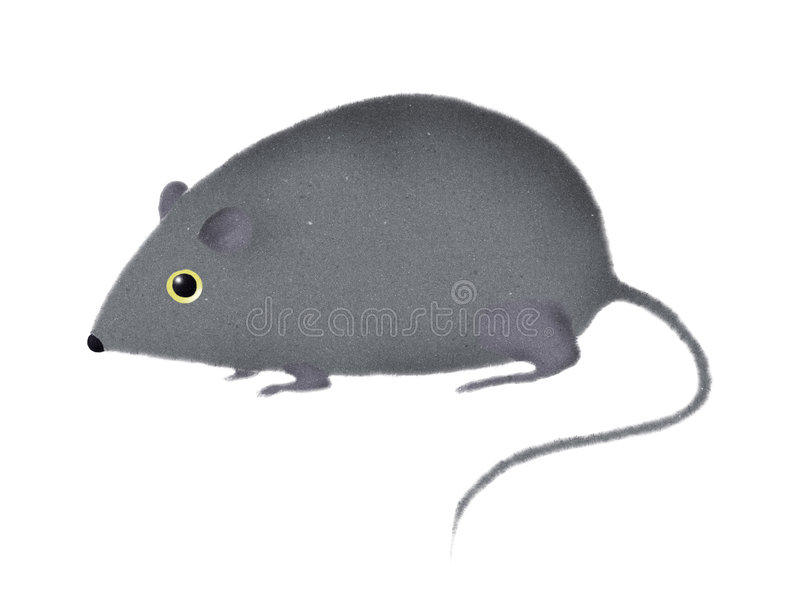 Download Stylized Mouse Or Rat Stock Photo - Image: 3296530