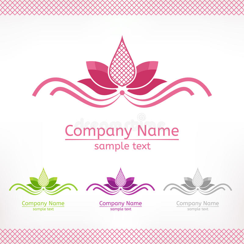 Stylized pink lotus flower template logo design stock vector download stylized pink lotus flower template logo design stock vector image 85705140 pronofoot35fo Choice Image