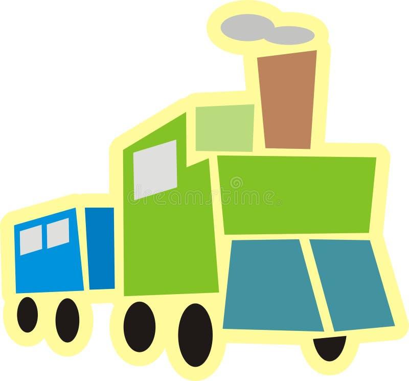 Download Stylized train stock vector. Image of locomotive, transportation - 2323269