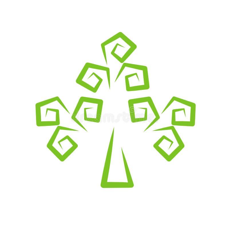stylized tree royaltyfri fotografi