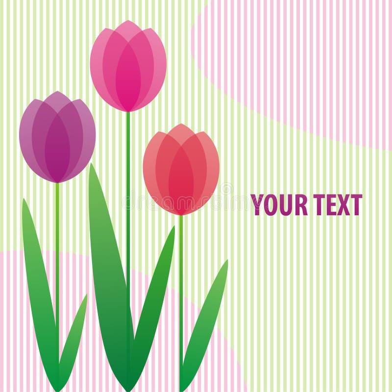 Download Stylized tulips stock image. Image of image, computer - 19149007