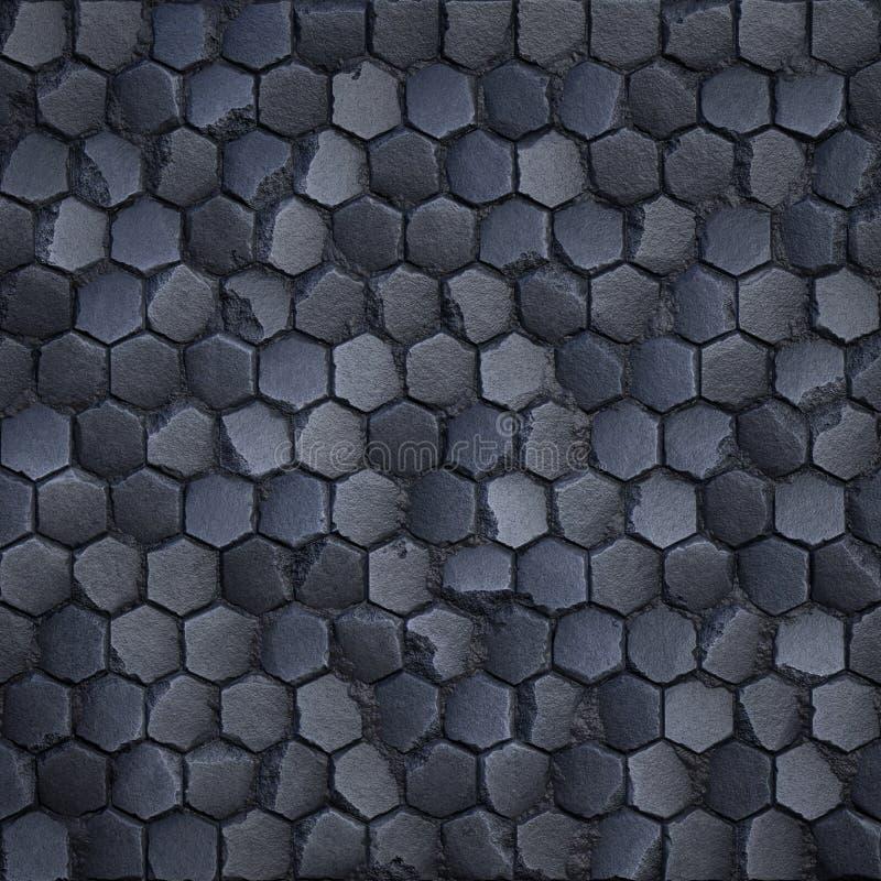 Stylizowana brukowiec tekstura obraz stock