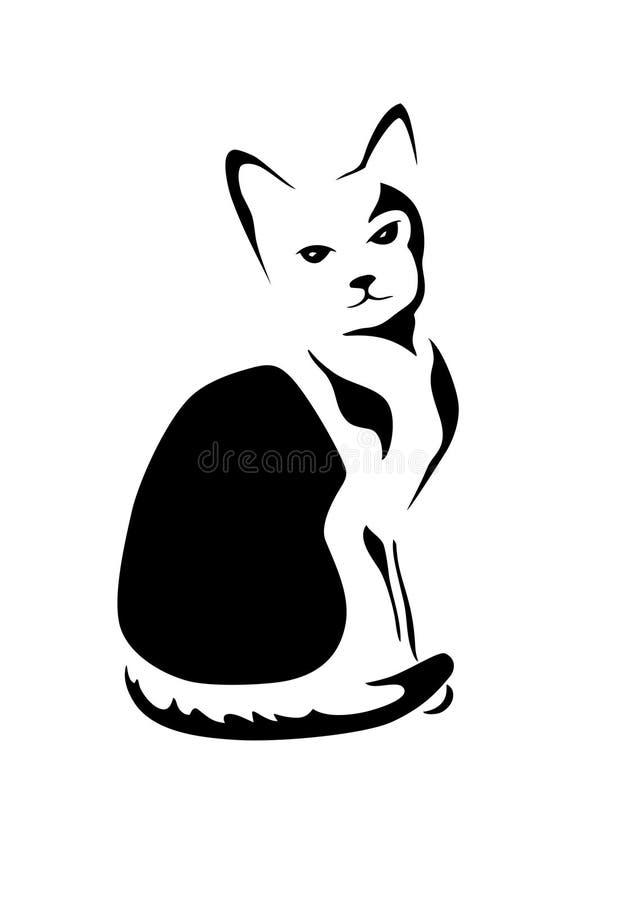 Stylizowany kot